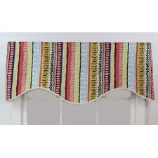 <strong>RLF Home</strong> Tribal Shaped Cotton Curtain Valance
