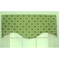 <strong>RLF Home</strong> Keenland Shaped Cotton Curtain Valance
