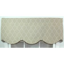 Porte Bouton Cotton Curtain Valance