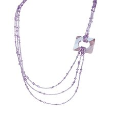 Chain Crystal Necklace