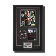 Framed Tony Soprano Memorbilia Picture
