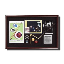 'The Hustler' Artwork Framed Memorabilia Shadow Box