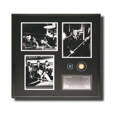 'The Hustler' Framed Black and White Artwork