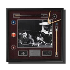 'The Hustler' Framed Newman/Gleason Picture