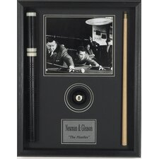 'The Hustler' Framed Memorabilia Shadow Box