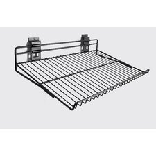 Slat Wall Angled Shoe Rack