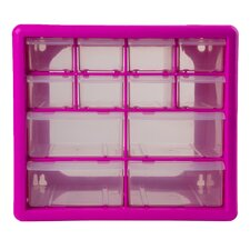 "10.25"" Wide 12 Compartment Parts Organizer"
