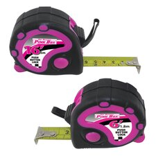 2 Piece Tape Measure Set
