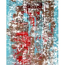 Abstract The Red Door by Jordan Carlyle Graphic Art