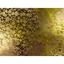 Abstract Golden Nest by Jordan Carlyle Graphic Art
