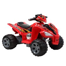 <strong>Happy Rider</strong> Quad 12V Battery Powered ATV