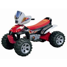 <strong>Happy Rider</strong> Trail Master 6V Battery Powered ATV