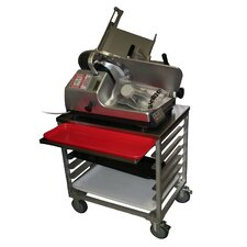 "30"" Slicer Mixer Scale Cart"