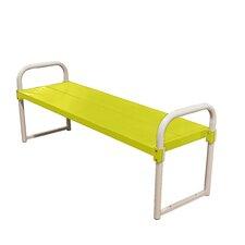 Double Plank Aluminum Garden Bench