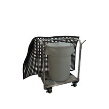 Mat Cart Tor Transporting Mats and Trash Cans