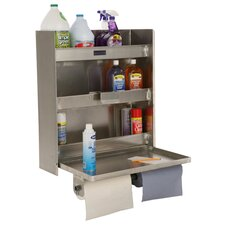 Double Cabinet 3 Shelf Gallon Organizer