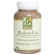 EcoPure Naturals Radiant Coat Supplement (60 ct.)