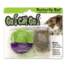 <strong>Go! Cat! Go!</strong> Go! Cat! Go! Butterfly Ball Cat Toy