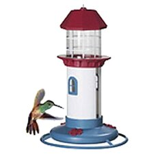 Lighthouse Hummingbird Bird Feeder