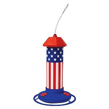 American Flag Hummingbird Feeder