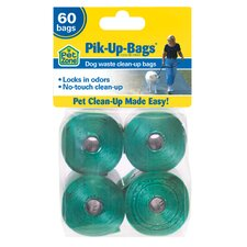 60 pc. Biodegradable Pik-Up Bags