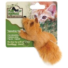 Play-N-Squeak Backyard Fox Cat Toy