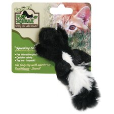 <strong>Play-N-Squeak</strong> Play-N-Squeak Backyard Skunk Cat Toy