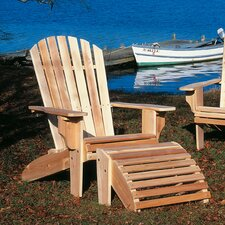 <strong>Rustic Natural Cedar Furniture</strong> Oversized Adirondack Chair