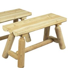 36'' Wood Picnic Bench (Set of 2)