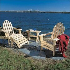 <strong>Rustic Natural Cedar Furniture</strong> Adirondack Seating Group