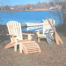 <strong>Rustic Natural Cedar Furniture</strong> Oversized Adirondack Seating Group