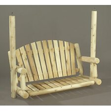 <strong>Rustic Natural Cedar Furniture</strong> Porch Swing