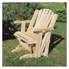 <strong>Rustic Natural Cedar Furniture</strong> Pacific Glider