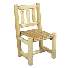 <strong>Rustic Natural Cedar Furniture</strong> Dining Side Chair