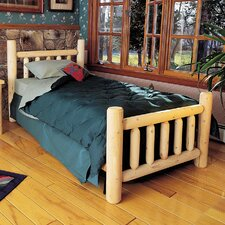 Rustic Slat Bed