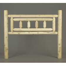 <strong>Rustic Natural Cedar Furniture</strong> Deluxe Headboard