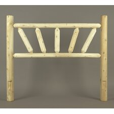 <strong>Rustic Natural Cedar Furniture</strong> Sunburst Headboard