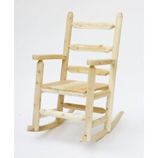<strong>Rustic Natural Cedar Furniture</strong> Rocking Chair