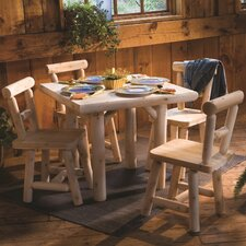 <strong>Rustic Natural Cedar Furniture</strong> Dining Table