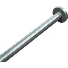 "Ceiling Mounted 1.25"" dia. Shower Rod Support"
