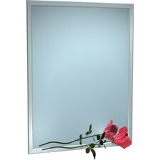 Inter-Lok Angle Frame Wall Mirror