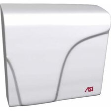 Profile Compact Electric 100 - 240 Volt Hand Dryer in White