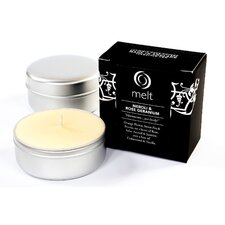 Neroli and Rose Geranium Scented Travel Candle