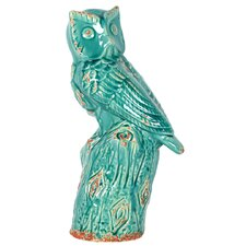 <strong>Urban Trends</strong> Owl Figurine