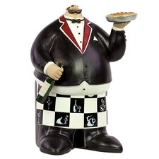 <strong>Urban Trends</strong> Home and Garden Accents Chef Figurine