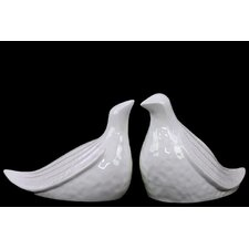 Home and Garden Accents Bird Figurine (Set of 2)