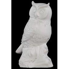Small Porcelain Owl Figurine