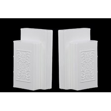 Ceramic Bookend Bookend (Set of 2)