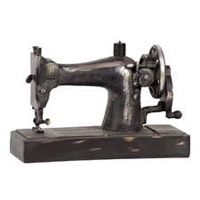 Resin Old Sewing Machine