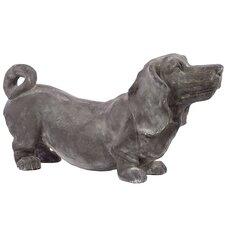 Polystone Fiberstone Dog Statue